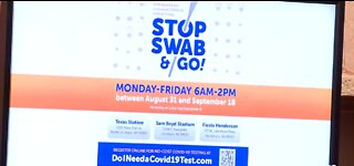 Clark County launches Stop, Swab and Go