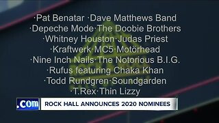 Rock Hall 2020 nominees revealed