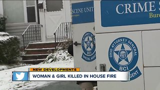 Woman, girl killed after Mayfield Heights house fire - Video