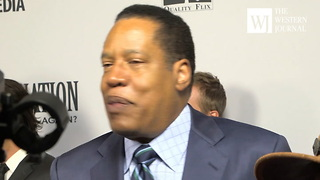 Larry Elder Red Carpet Interview on Facebook Censoring