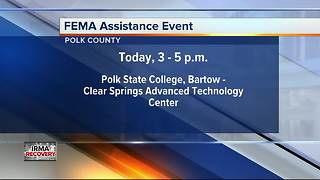 Polk State College to host FEMA Assistance Event - Video