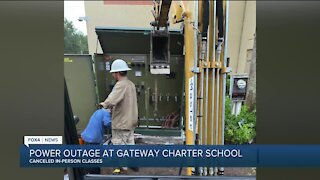 Power outage at Gateway Charter School