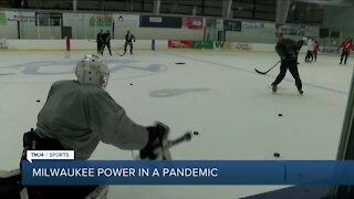 Wisconsin hockey teams adapting to pandemic