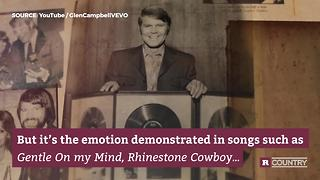 Country star Glen Campbell | Rare Country - Video