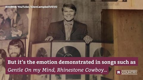 Country star Glen Campbell   Rare Country