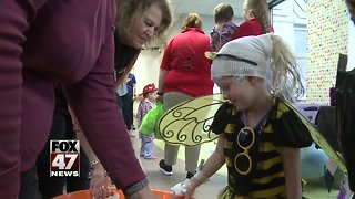 Kids in the hospital get a treat for Halloween