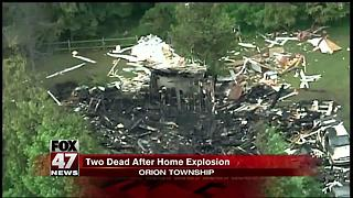 2 dead following fire, explosion at suburban Detroit home - Video