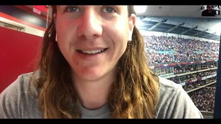 Mike Clevinger takes a break from spring training to talk about the upcoming season