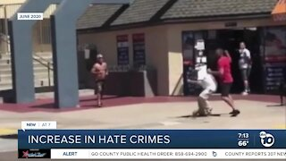 Hate crimes increasing ahead of election