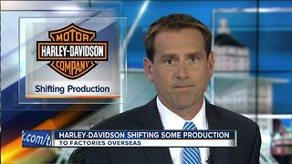 Harley, stung by tariffs, shifts some production overseas - Video