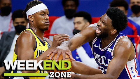 Joel Embiid Throws MAD Shade At Myles Turner & Why Devin Booker Was Ejected Finally Explained | WZ