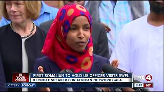 First Somalian to hold U.S. office to visit Southwest Florida - Video