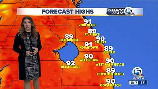 South Florida Wednesday afternoon forecast (6/27/18) - Video