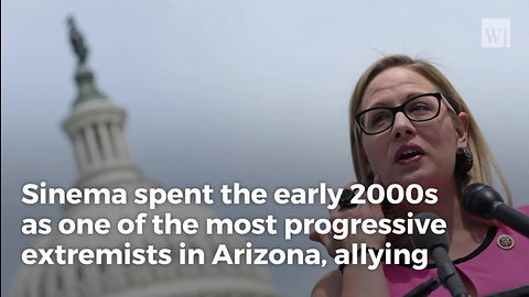 Report: Sinema Thinks Bush Put Arsenic In Our Water, Pushed Other Crazy Conspiracy Theories