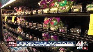 Stores pulling romaine lettuce due to E. coli scares