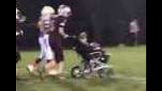 Disabled 7-Year-Old Opens Brother's Football Game With Inspirational Touchdown