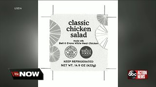 Ready-to-eat chicken salad products sold in Florida recalled due to possible listeria contamination