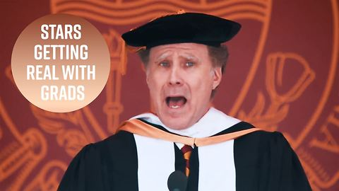 7 brutally honest (but funny) celeb grad speeches