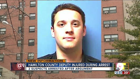 Hamilton County deputy hurt while working off-duty detail