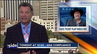 Garth Brooks fan gets ADA tickets after medical issue prevents walking to seats