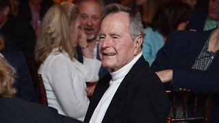 Former President George H. W. Bush Out Of ICU - Video