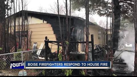 Boise Fire Department responds to early morning fire