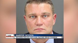 Another Harper Woods police officer charged in separate drug cases - Video