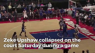 Breaking: NBA player dies just days after collapsing mid-game - Video