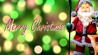 Merry Christmas & Happy Holidays Greeting Card (6) - Video