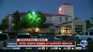Masked gunmen rob motel guests near Denver International Airport
