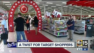A new twist for Target shoppers, new store opening in Phoenix - Video