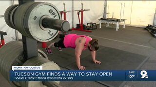 Tucson gym finds a way to stay open