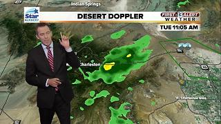 13 First Alert Las Vegas afternoon weather for July 25 - Video