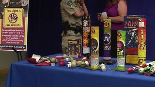 Clark County cracking down on illegal fireworks ahead of Fourth of July