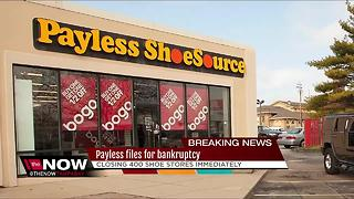 Payless files for bankruptcy - Video