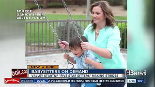 Online babysitting service making life easier for parents - Video