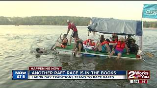 Tulsa's Great Raft Race - Video