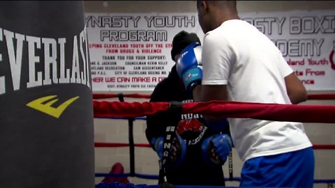 Cleveland program fighting to keep youth off the streets with boxing, basketball