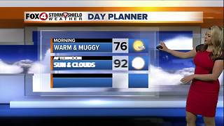 Hot & Humid with Lower Rain Chances - Video