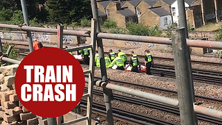 Three struck by train in south London