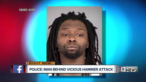 Police search for more potential victims after hammer attack