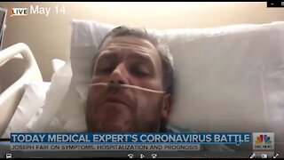 7-12-20 NBC Doctor Joseph Fair LIED he never had the virus Coronavirus Covid-19 Lockdowns