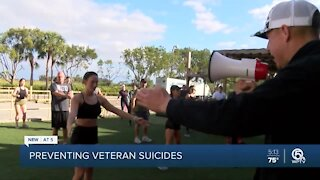 Evolution Fitness group workouts and podcast builds veteran resilience