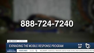 Expanding the mobile response program