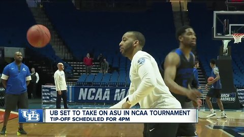Horns up! Both UB Men's and Women's basketball teams are gearing up NCAA tournament