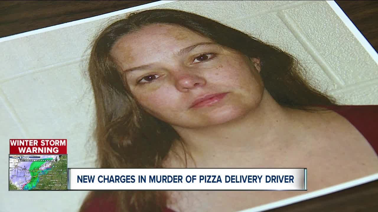 Rittman woman charged with murder of pizza delivery driver