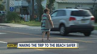 Pinellas County exploring options to make Gulf Boulevard safer for beachgoers - Video