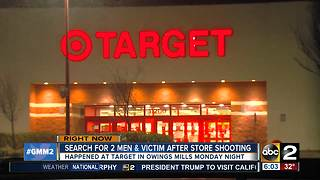 Reported shots fired in Target in Owings Mills - Video