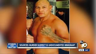 Sources: murder suspect was in U.S. illegally