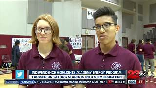 Independence high school highlights academy energy program - Video